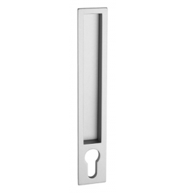 Shell for sliding door PAMAR 1098Z - CP - Chrome pearl