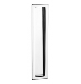 Shell for sliding door PAMAR 1098Z - OC - Polished chrome