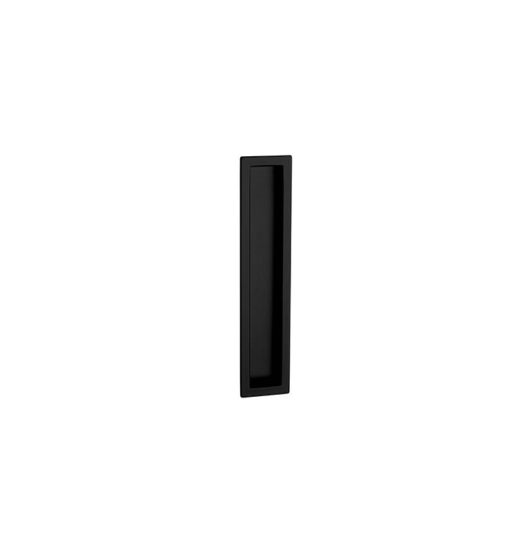 Griffmulde für Schiebetüren PAMAR 1098Z - BLM - Schwarz matt