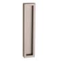 Mušle na skleněné posuvné dveře PAMAR 1158Z - NP - Nikl perla