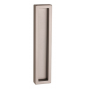 Shell for glass sliding door PAMAR 1158Z - NP - Nickel pearl