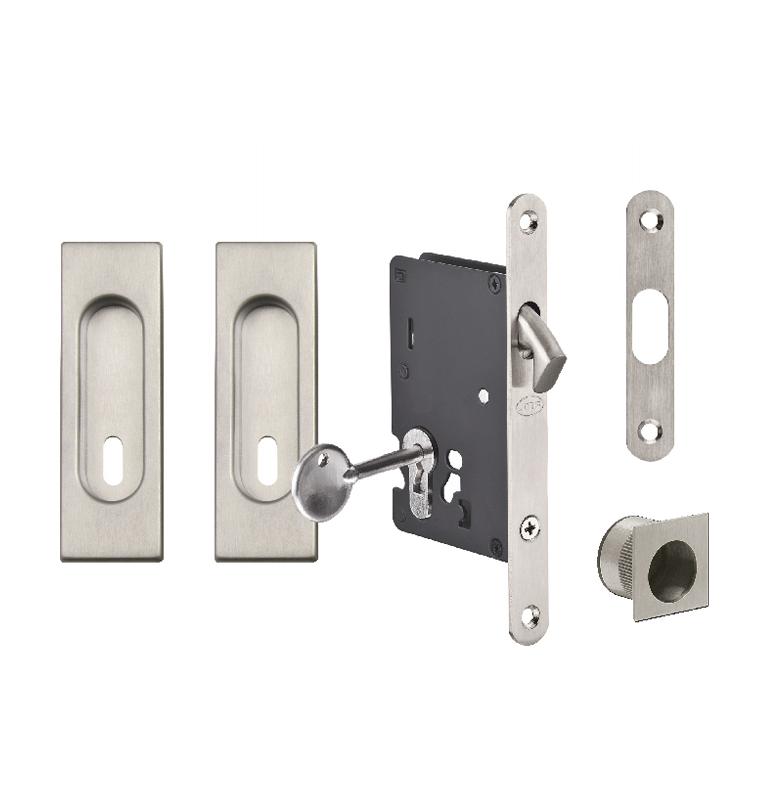 Square set for sliding doors JNF