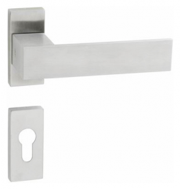Handle JNF SQUARE - UR - Brushed stainless steel