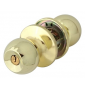 Lockable ball DOMINO 6871 - OLV - Polished brass