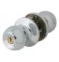 Lockable ball DOMINO 6871 - OC - Polished chrome