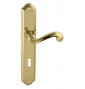 CARLA 704 - OLV - Polished brass