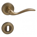 Handle MINORCA - R - OGS - Mate antique brass