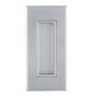 Mušle na posuvné dveře TUPAI 2650 - CP - Chrom perla