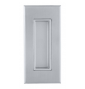 Shell for sliding door TUPAI 2650 - CP - Chrome pearl