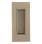 Mušle na posuvné dveře TUPAI 2650 - NP - Nikl perla