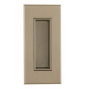 Uchwyt do drzwi przesuwnych TUPAI 2650 - NP - Nikiel perła