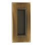 Griffmulde für Schiebetüren TUPAI 2650 - OGS - Bronze gekämmt mat