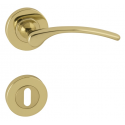 LAURA 2 - R - OLV - Polished brass