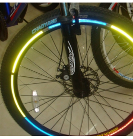 Reflexní pásky na kolo