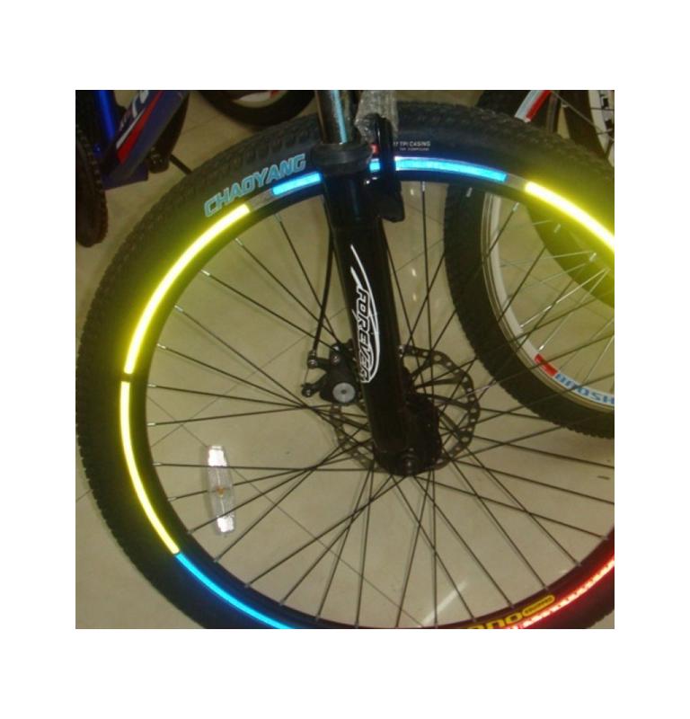 Reflexné pásky na bicykel