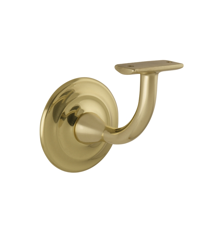 Handrail Bracket 2805 - OLV - Polished brass