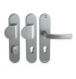 Security handle LINIA BETA - Anodized INOX