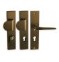 Biztonsági kilincs LINIA ATLAS - F4 - Bronz elox