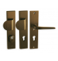Security handle LINIA ATLAS - F4 - Anodized bronze