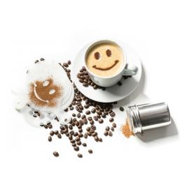 Šablony na zdobení kávy (16ks)