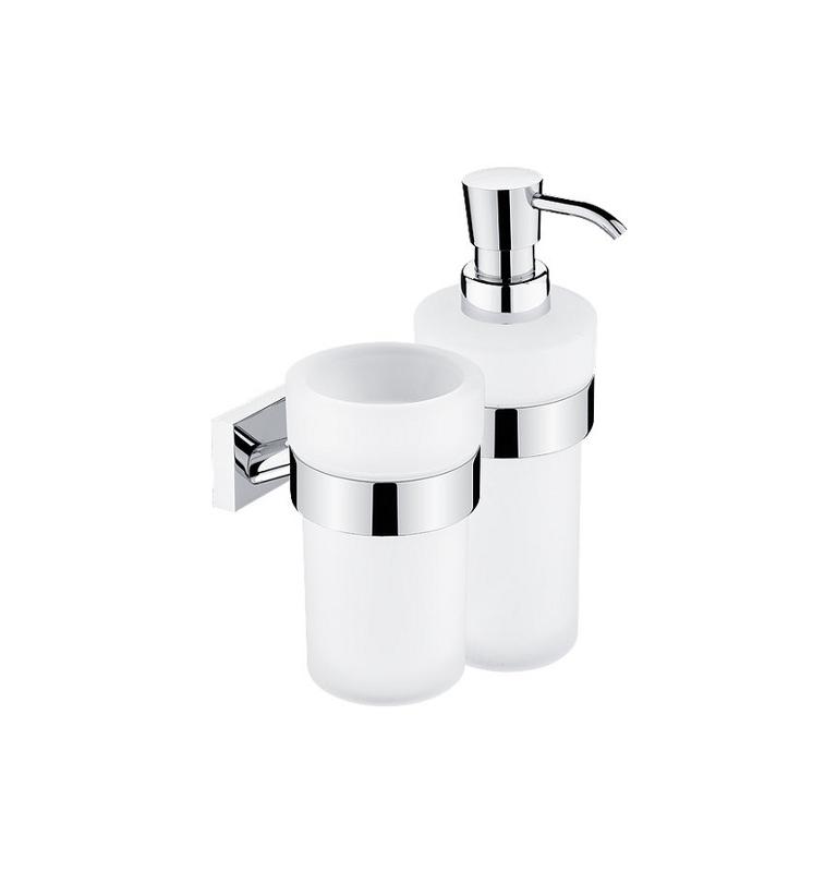 Kubek do mycia zębów i dozownik mydła NIMCO KEIRA KE 2205831W-26