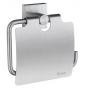 Posiadacz papier toaletowy z pokrywą SMEDBO HOUSE - Chrom szczotkowany