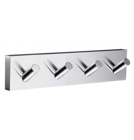 Hook quadruple SMEDBO HOUSE - Polished chrome