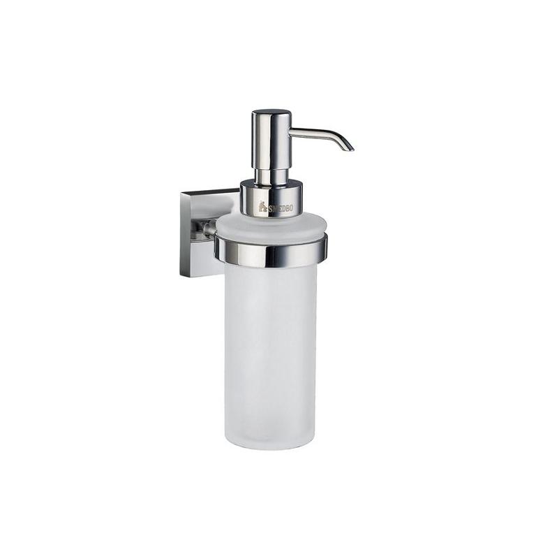 Szklany dozownik mydła SMEDBO HOUSE - Chrom błyszczący