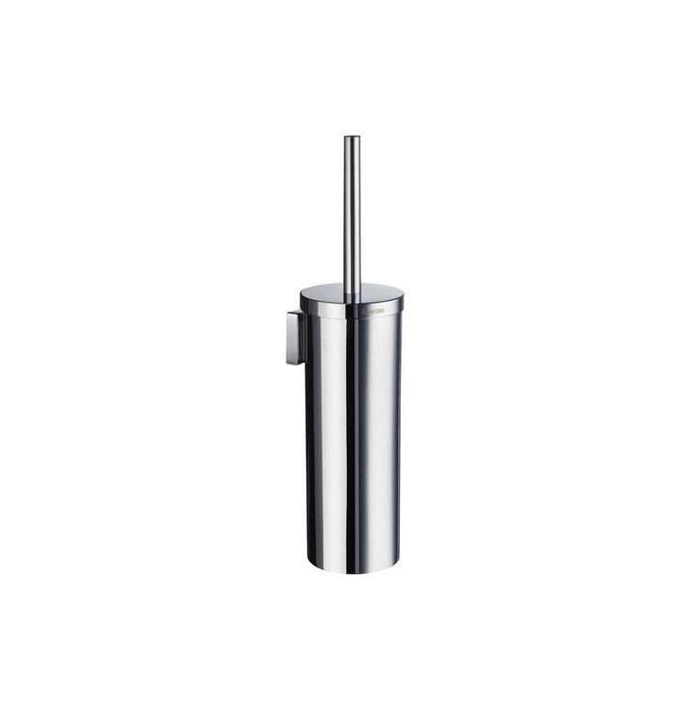 Szczotka do WC z metalowym pojemnikiem SMEDBO HOUSE - Chrom błyszczący