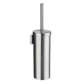 Toilet brush with metal container SMEDBO HOUSE - Brushed chrome