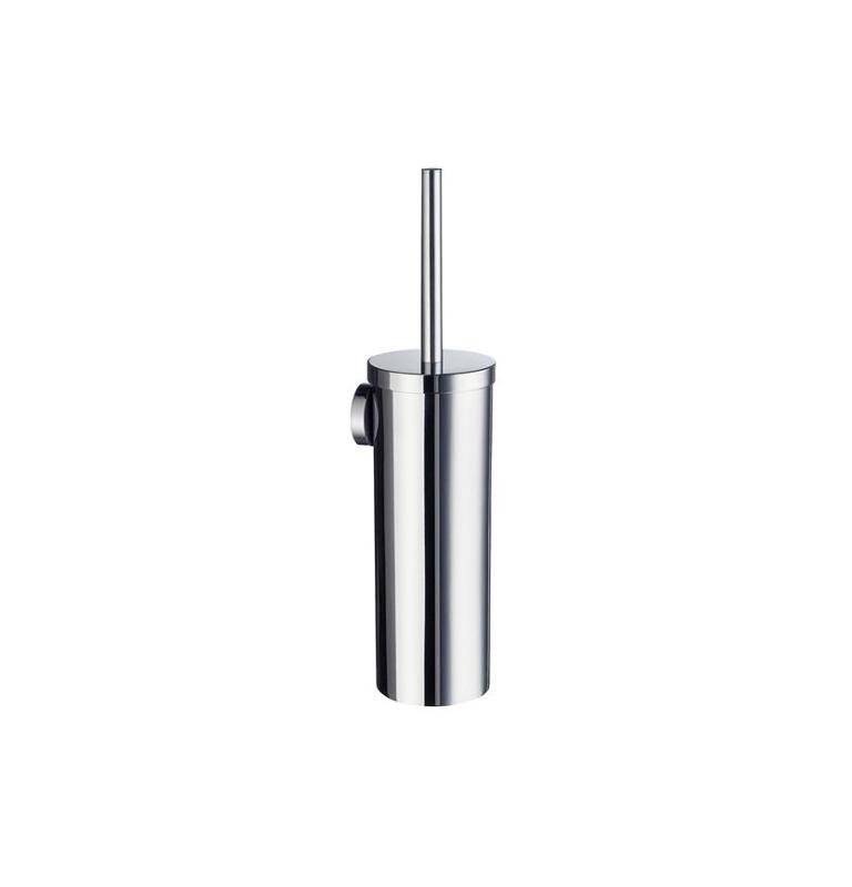 Szczotka do WC z metalowym pojemnikiem SMEDBO HOME - Chrom błyszczący