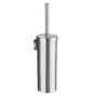 Toilet brush with metal container SMEDBO HOME - Brushed chrome