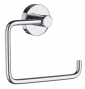 Toilet roll holder without lid SMEDBO HOME - Polished chrome