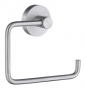 Toilet roll holder without lid SMEDBO HOME - Brushed chrome