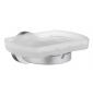 Miska na mýdlo s držákem SMEDBO HOME - Chrom broušený