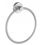 Towel ring SMEDBO HOME - Brushed chrome