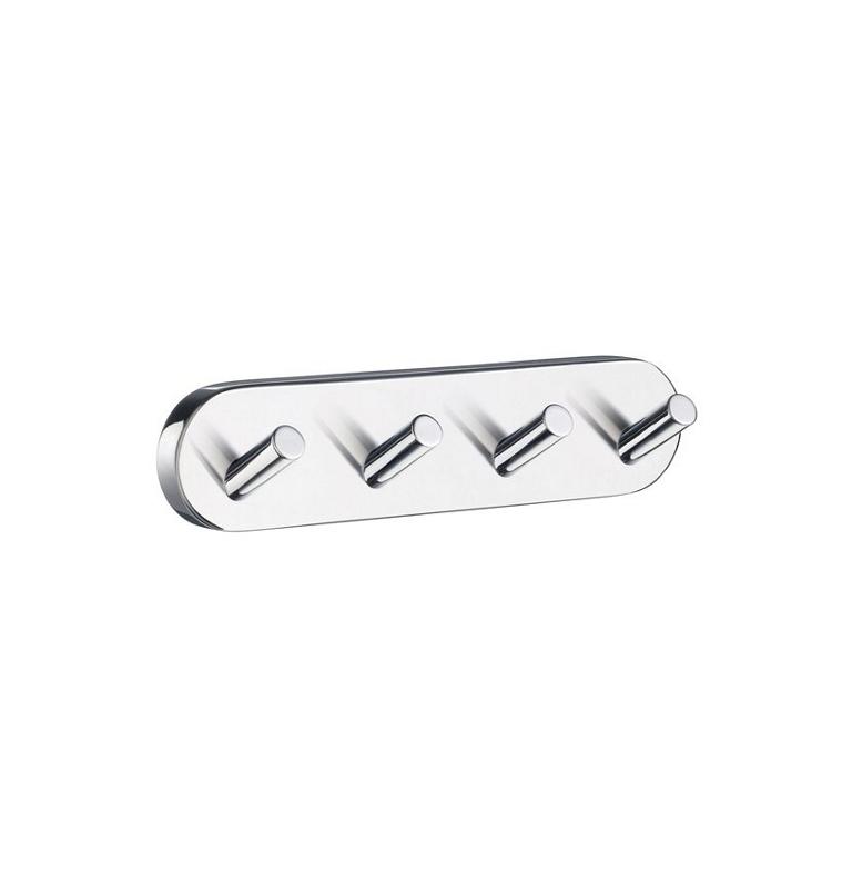 Hook quadruple SMEDBO HOME - Polished chrome