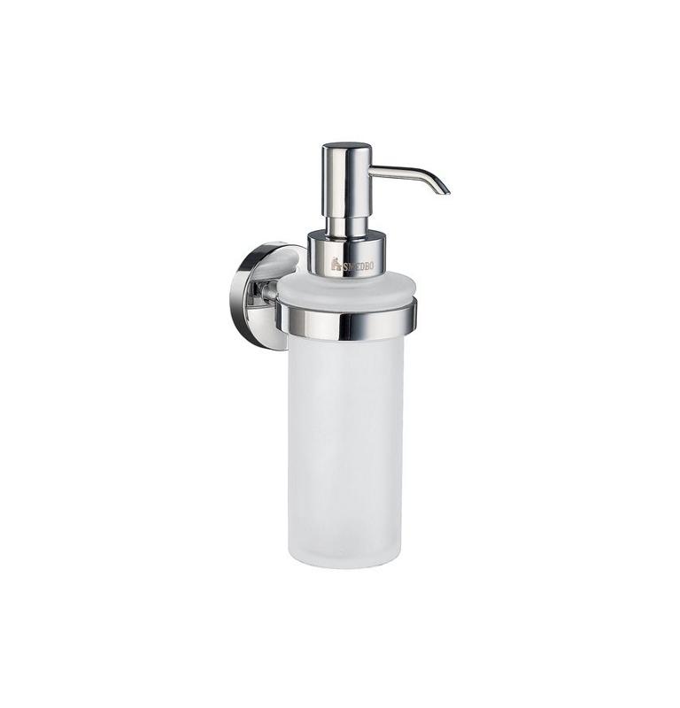 Szklany dozownik mydła SMEDBO HOME - Chrom błyszczący