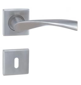 Klamka MP - TORNADO - HR - Szczotkowana nierdzewna