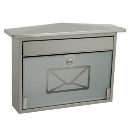 Skrzynka pocztowa ROBIN nierdzewna