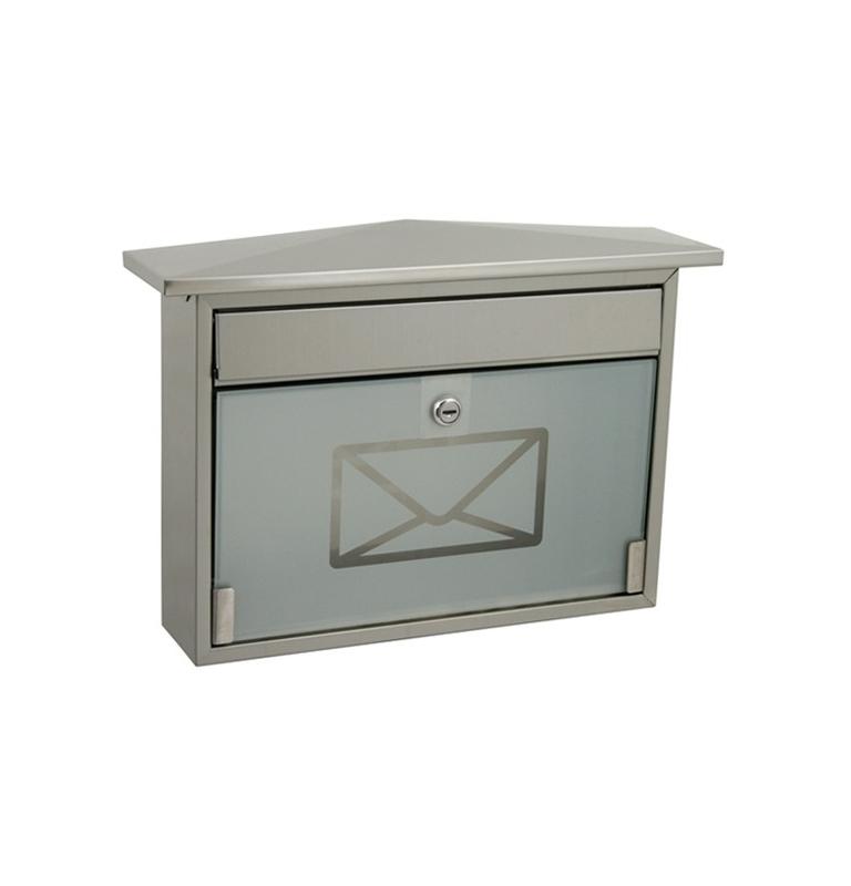 Skrzynka pocztowa X-FEST ROBIN nierdzewna