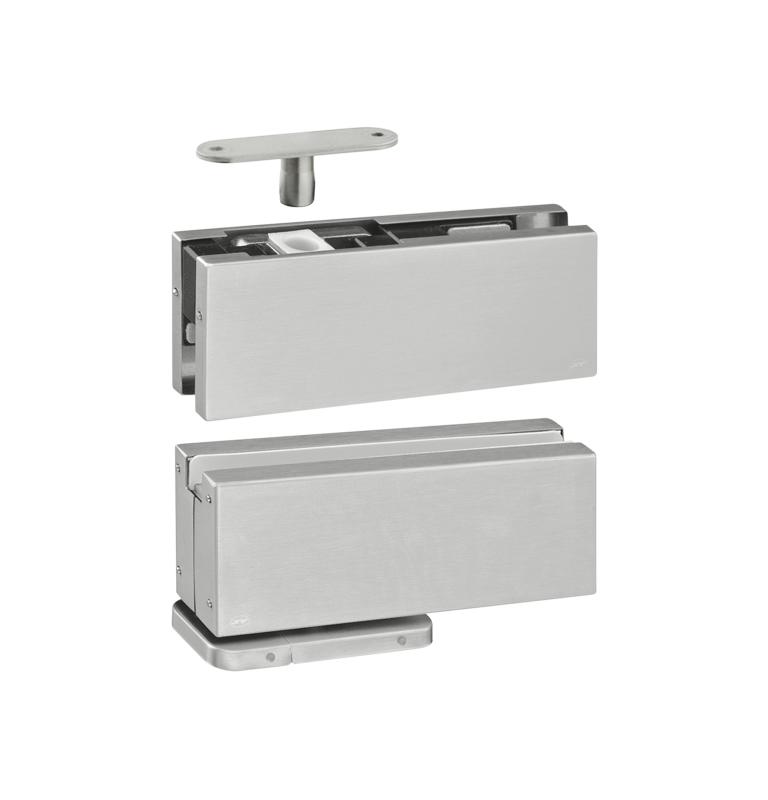 Hydraulický pivotový samozatvárací set na sklenené dvere JNF - IN.81.203
