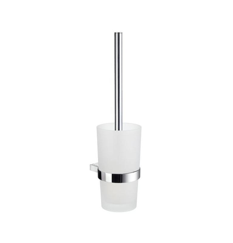 Szczotka do WC z pojemnikiem szklanym SMEDBO AIR