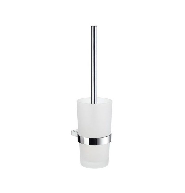 Toilet brush with glass container SMEDBO AIR