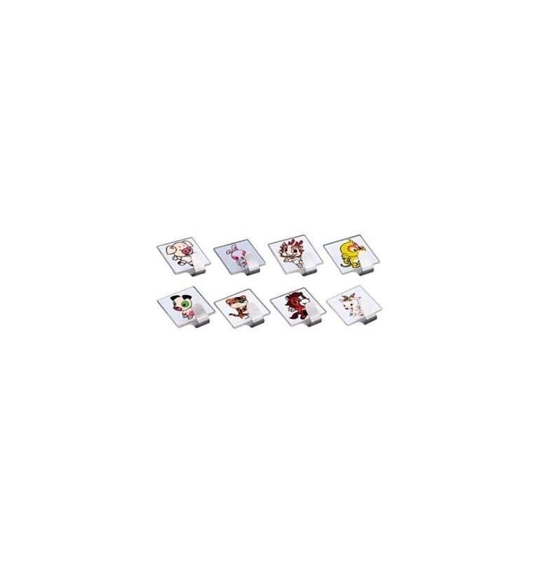 Detský samolepiaci vešiak (2ks v balení)