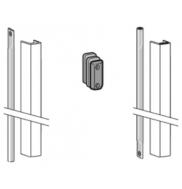 DORMA PHX 04 F - Connecting rod set with cover for door heights up to 2270 mm