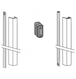 DORMA PHX 04 F - Set závory s krytem pro křídlo dveří s výškou 2270 mm