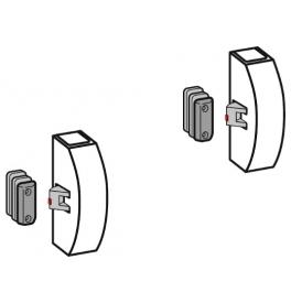 DORMA PHX 07 F - Horní a dolní zajištění s boční západkou