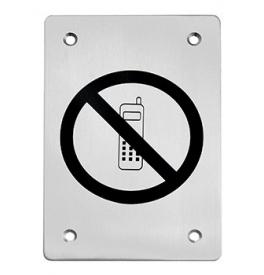 Piktogram zákaz telefonovania