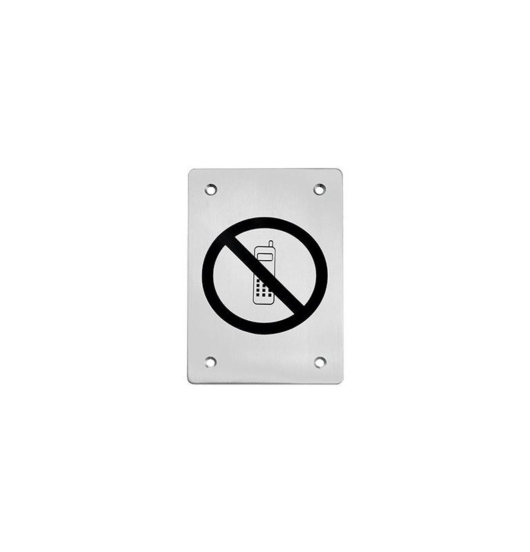 Piktogram TUPAI - zákaz telefonování